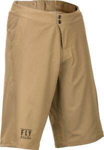 Fly Racing Maverik Shorts | Khaki | Choose Size