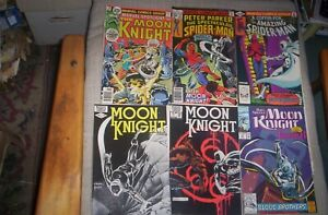 Lot of 8 Moon Knight Comics 1976-1992