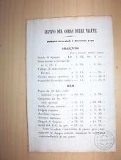 1859-MONETA-CAMBIO VALUTA-ITALIANA-ROMANA-BOLOGNA