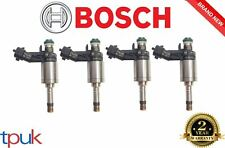 JAGUAR XF 2.0 ECOBOOST FUEL INJECTOR PETROL BOSCH GENUINE ECO BOOST SET OF 4