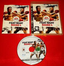 FIGHT NIGHT ROUND 4 Ps3 Versione Ufficiale Italiana 1ª Edizione ○ COMPLETO