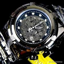 Mens Invicta Reserve Bolt Zeus Meteorite High Polish Steel Chronograph Watch New
