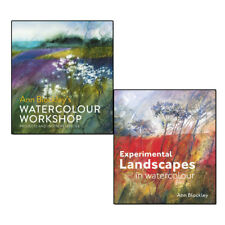 Ann Blockley Collection 2 Books Set Watercolour Workshop,Experimental Landscape