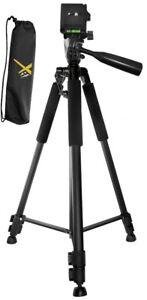 "60"" Tripod For Canon VIXIA HF R800 R700 R600 R82 R80 R72 R70 R62 R60 G30 & more"