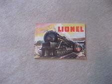 1948 LIONEL TRAINS CONSUMER CATALOG NEAR EXCELLENT (RS)
