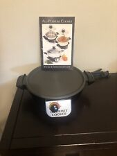 Americraft All Purpose Cooker Electric Base Recipe and instructional guide
