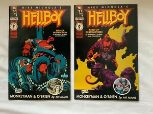 Hellboy Seed of Destruction #1 and #2