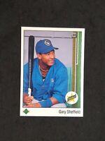 1989 Upper Deck Gary Sheffield Rookie Card RC #13 Brewers