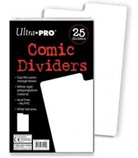 Ultra Pro Comic Dividers (25 pack) - Organise Your Collection