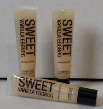 ( 3 ) Hempz Treats SWEET VANILLA EGGNOG Lip Shine Gloss Balm ~ Free Shipping