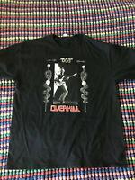Lemmy Overkill Motorhead Punk Metal Band 70s 80s T-Shirt