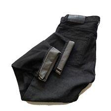 The Hundreds Selvedge Raw Denim Mens 38x31 Black Jeans Japan