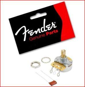 Fender Original Tone / Volume Control 250K Split Shaft Potentiometer - Push-On