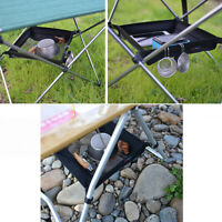 Camping Picnic Folding Table Storage Grid Outdoor Storage Bag Big