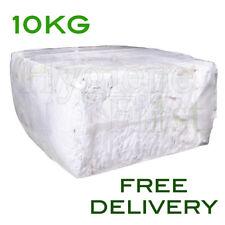 10Kg White Mix Wiper Industrial engineers Garage Rag cotton wipe