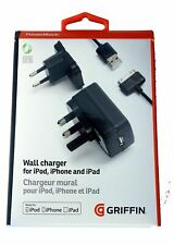 More details for griffin powerblock ga23102 2 amp universal portable charger uk/eu mains adapter