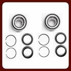 Front Wheel Bearing Wsnap Ring For Nissan Maxima 1995-1999 Pair New