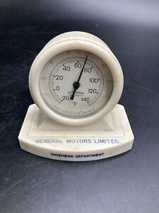 General Motors G.M. Overseas Division Promotional Thermometer Vintage
