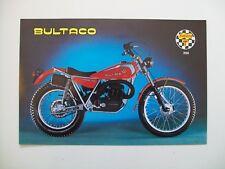 BULTACO Sherpa T (mod 199) Sales literature/Sales brochure  (NEW-not a reprint)