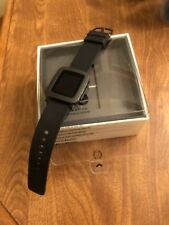 Pebble Time Great Condition 501-00020 Smartwatch, Black working