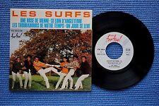 LES SURFS / EP PROMO FESTIVAL FX 45 1513 M / LABEL 2 / BIEM 1966 ( F )