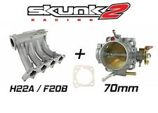 Skunk2 Pro Intake Manifold & Alpha 70mm Throttle Body for Honda H / F Series H22