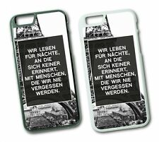 iPhone PARIS EIFELTURM Hard Tasche Flip Hülle Case Cover Spruch