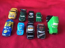 Lot of 9 Disney Pixar Cars Good used condition