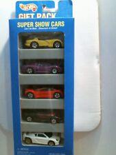 1995 Hot Wheels 5 Pack Super Show Cars (Viper, Purple Jaguar) - Set