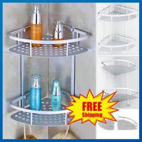 3 Tier Bathroom Corner Shower Shelf Rack Organiser Bath Accessory Sets Plant