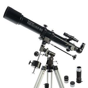 Celestron PowerSeeker 70EQ Refractor Telescope #21037 Black (UK Stock) BNIB