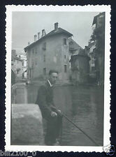 Annecy . photo ancienne . 1946-1947
