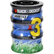 Rocchetti BLACK+DECKER A6441x3-XJ Filo in Nylon Per Decespugliatori