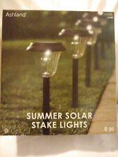 Ashland Summer Solar Stake Lights 6pc