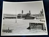 "Vintage Oregon State Hwy Commission Photo #5812 Stockade ""Indian Fighter"" Movie"