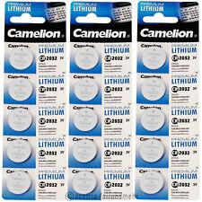 """""""15x Camelion CR2032 PREMIUM Lithium Batterie CR 2032"""