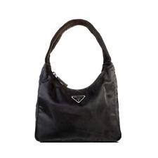 VTG PRADA Bag Nylon Black Mini Hobo