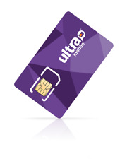 Ultra Mobile Sim Card $39 Plan Unlimited Talk, Text, 5 GB - 4G LTE - FREE SIM