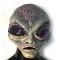 Grey Alien Spaceman  Zagone Studios Adult Latex Halloween Mask