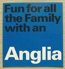 FORD ANGLIA Car Sales Brochure 1966 #DOM 45697/6510/CD15/1