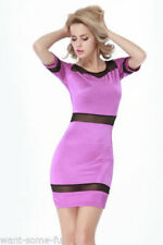 Unbranded Polyester Purple Dresses for Women