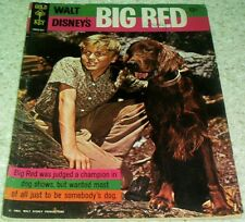 Walt Disney's Big Red 10026-503, FN- (5.5), 1965, 50% off Guide!
