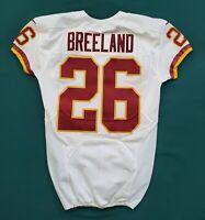 #26 Bashaud Breeland of Washington Redskins NFL Locker Room Game Issued Jersey