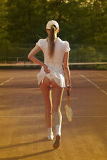 A3 Size - Tennis Girl Classic Athena -Sports Poster #35