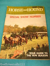 HORSE and HOUND - SPECIAL SHOW NUMBER - MARCH 8 1974