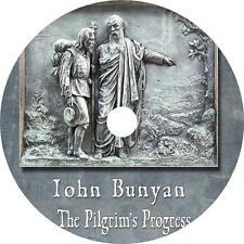 The Pilgrims Progress John Bunyan Christian Spiritual Audiobook English 1 MP3 CD