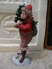 "Duncan Royale Santa Series Ii Pixie 12"" Figurine #6024/10,000 w/ Original Boxes"