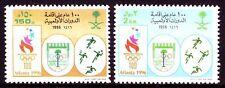 Saudi Arabia 1996 ** Mi.1250/51 Olympics Games Fußball Football Tennis