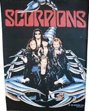 SCORPIONS  'GROUP' VINTAGE  LARGE SEW ON  BACKPATCH BACK PATCH