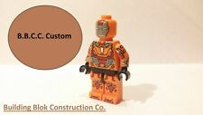 Lego Custom Printed Marvel Minifigure Iron Man Mark 28 Jack!